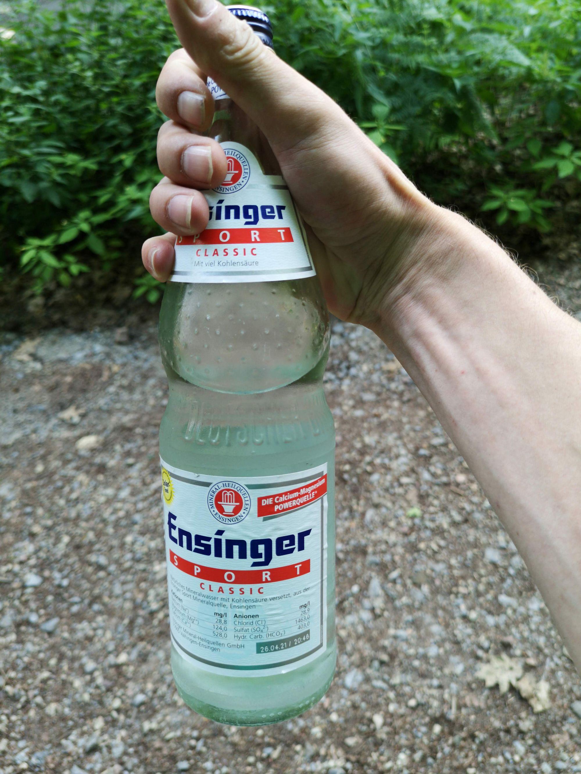 Wasserflasche Ensinger